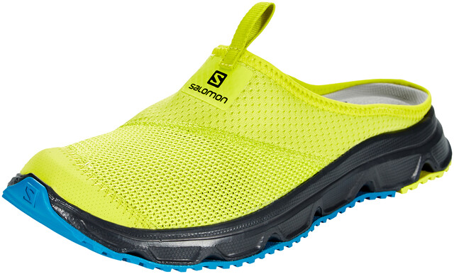 Salomon RX Slide 4.0 Zapatillas Hombre, evening primrose/ebony/fjord blue